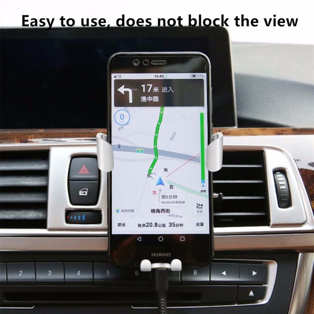 Car Phone Holder Universal Air Vent Mount Clip