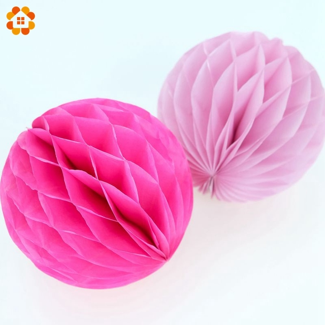 "10PCS/Lot 4""(10cm)Can Mix Colors Tissue Paper Lantern Honeycomb Ball For Home Wedding &Birthday Party /Baby Shower Decoration"