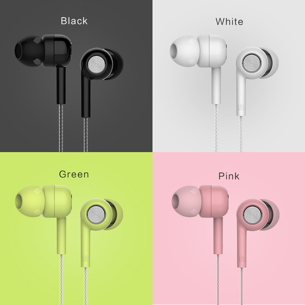 Self-Conscious Universal Hi-fi Earphone Wire Earphones For Smart Phone Tablet Sport Attraction Earphone Double Bass R0404 Diversified Latest Designs Earphones & Headphones