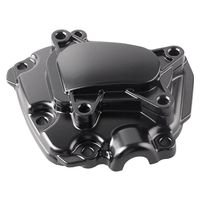 Motorcycle Aluminum Engine Starter Clutch Cover For Yamaha YZF R1 2009 2010 2011 2012 2013 2014 Black