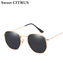 Aviation Coating Mirror Sunglasses