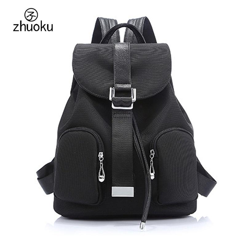 2017 Backpacks for school teenagers girls drawstring bag mochila Good quality Oxford Canvas backpack 15 25
