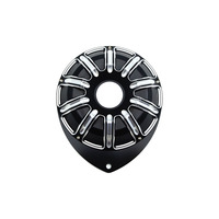 Motorcycle CNC Left Hand Engine Stator Cover For Indian Scout 2015 up Black For Indian Scout Bobber 2018
