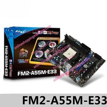 fm2-a55m-e33 DDR3 Socket FM2 Motherboard All solid state dual interface