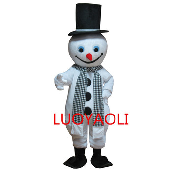 Christmas costumes cosplay halloween christmas snowman mascot adult costume christmas white thanksgiving theme