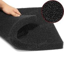 Practical Biochemical Cotton Filter Aquarium Fish Tank Pond Foam Sponge Black Filters & Accessories 50*50*2cm