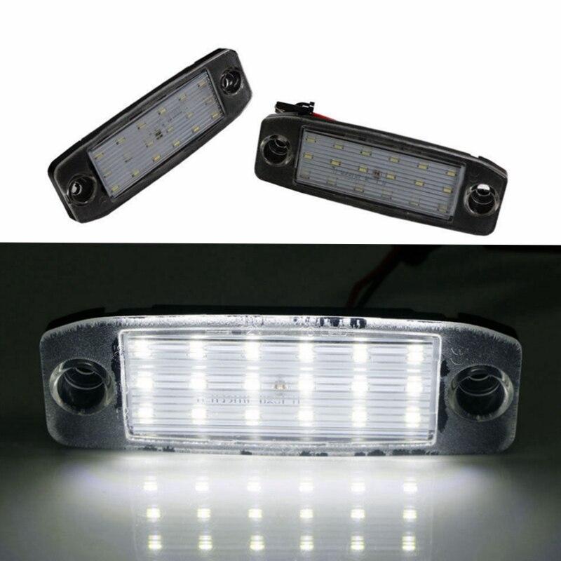 2 pcs Car LED License Plate Lights For Hyundai Sonata 10 Sonata YF 10MY GF 10 Free Shipment