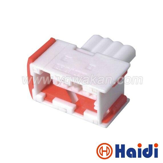 Envío Gratis 5 Juegos 4pin Tyco/Amp Sensor de oxígeno enchufe de cable de acoplamiento a prueba de agua auto cable conector 144998-5