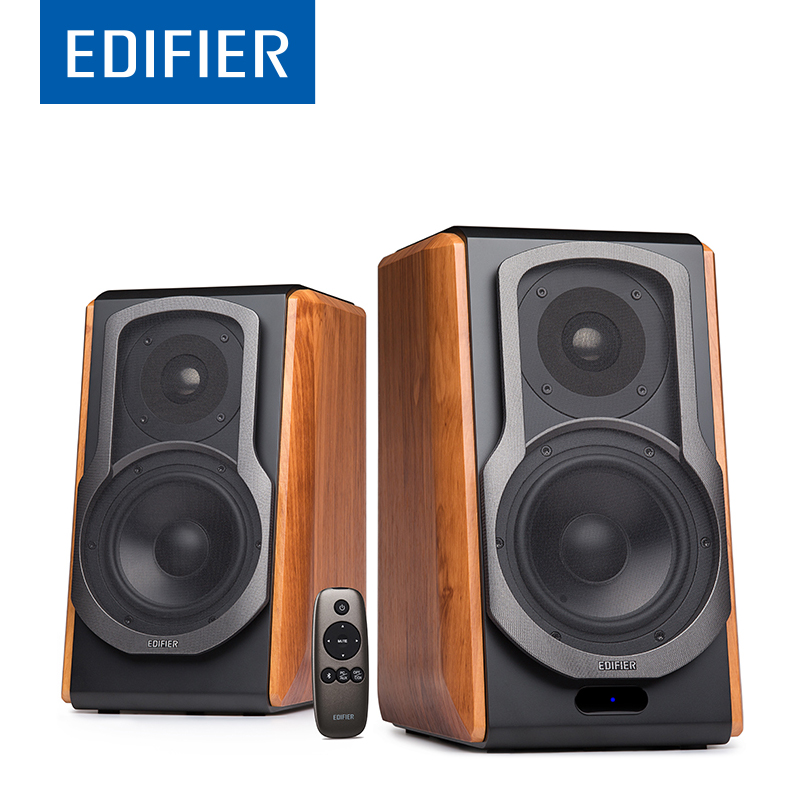 EDIFIER S1000DB HIFI Bookshelf Bluetooth Speaker Wireless Bluetooth Speaker With apt-X For Home Theatre Support Remote Control  цена и фото