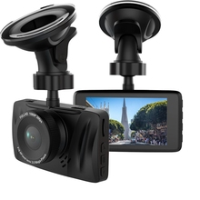 Universal 170 degree A+ grade high-resolution wide angle lens Full HD 1080P 3.0 Inch Car Video Camera Recoder R801
