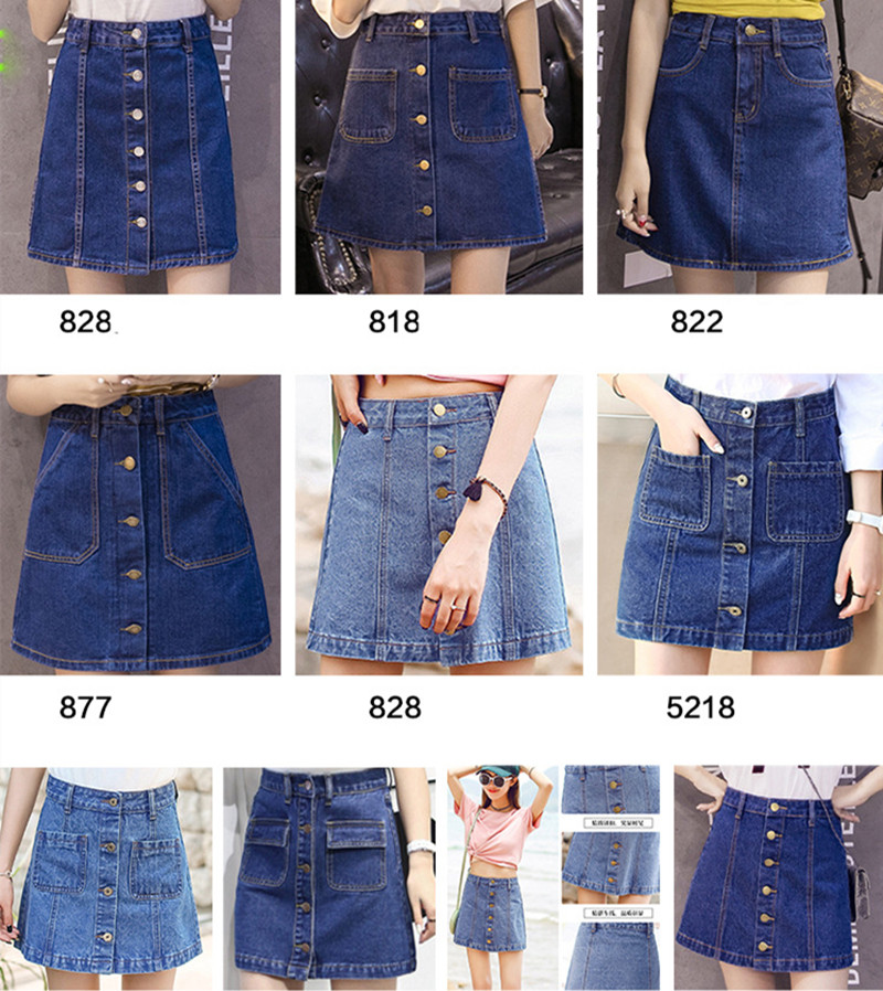 Popular Denim Skirts Juniors-Buy Cheap Denim Skirts Juniors lots ...