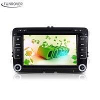 Android 5.1 Car DVD Player Radio Gps Stereo for VW Volkswagen SKODA GOLF 5 Golf 6 POLO PASSAT B7 T5 CC JETTA TIGUAN TOURAN 2 din