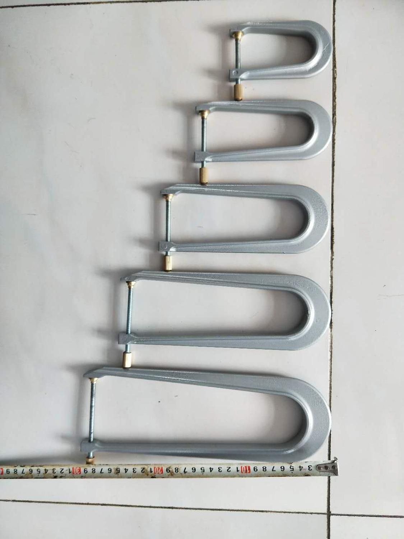 1 Set Violin bass bar clamp 5PCs each set New violin tool Aluminum materials