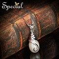 Especial 925-Sterling-Silver colares de pérolas naturais colar pingente para meninas mulheres frete grátis XL1411102