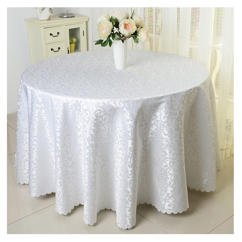 Europe Polyester Wedding Table Cloth Printed Tablecloth Solid Tablecloths  Round Table Cover For Hotel Banquet Toalha De Mesa In Tablecloths From Home  ...