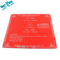 Free Shipping RepRap Mendel PCB Heated MK2B Heatbed For Mendel 3D Printer Hot Bed