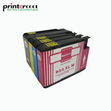 einkshop 932XL 933XL Compatible Ink Cartridge for hp 932 XL 933 XL Officejet 6100 6600 6700 7110 7610 7612 Printers with chips free shipping for hp 932 933 refillable ink cartridge with ink with permanent chips for hp officejet 7110 6100 ink jet printer