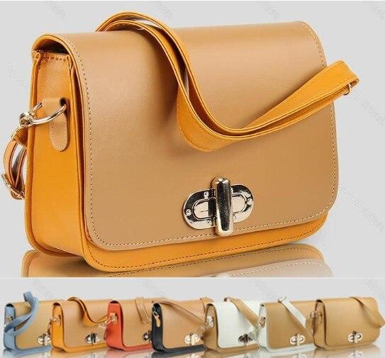 2013 spring and summer fashion flip gold buckle shaping women's handbag messenger bag shoulder bag