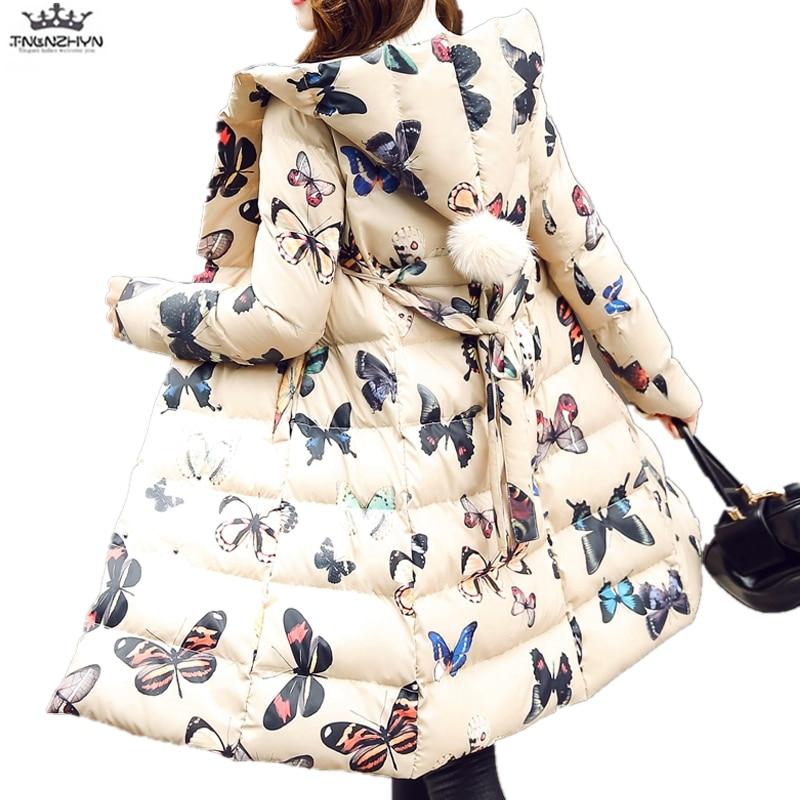 Parka Down Butterfly Capuchon Épais Veste Moyen Little Black À Long Capuche Slim Butterf Le Bas Hiver Y790 Big beige 2019 Nouveaux En Femmes Manteau Vers Coton D'hiver Tnlnzhyn wqTH7gT