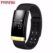FROMPRO MS01 Мода Смарт Браслет для Женщин Мужчин Bluetooth Смарт часы для iOS Android как Miband 2 Монитор Сердечного ритма шагомер