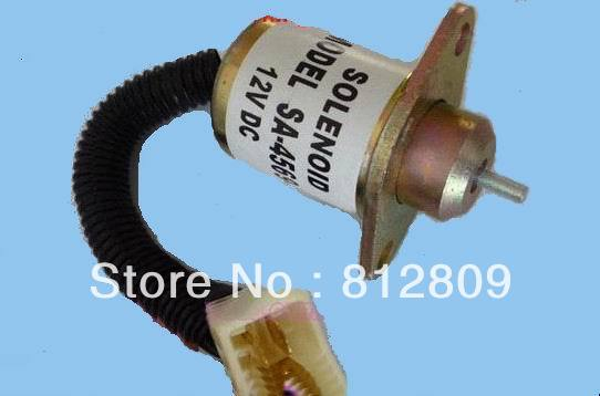 Fuel Shut Off Shutdown Solenoid 17594-6001-4,Kubota,Yanmar,SynchroStart,SA4569T ,Free Fast  Shipping 3924450 2001es 12 fuel shutdown solenoid valve for cummins hitachi