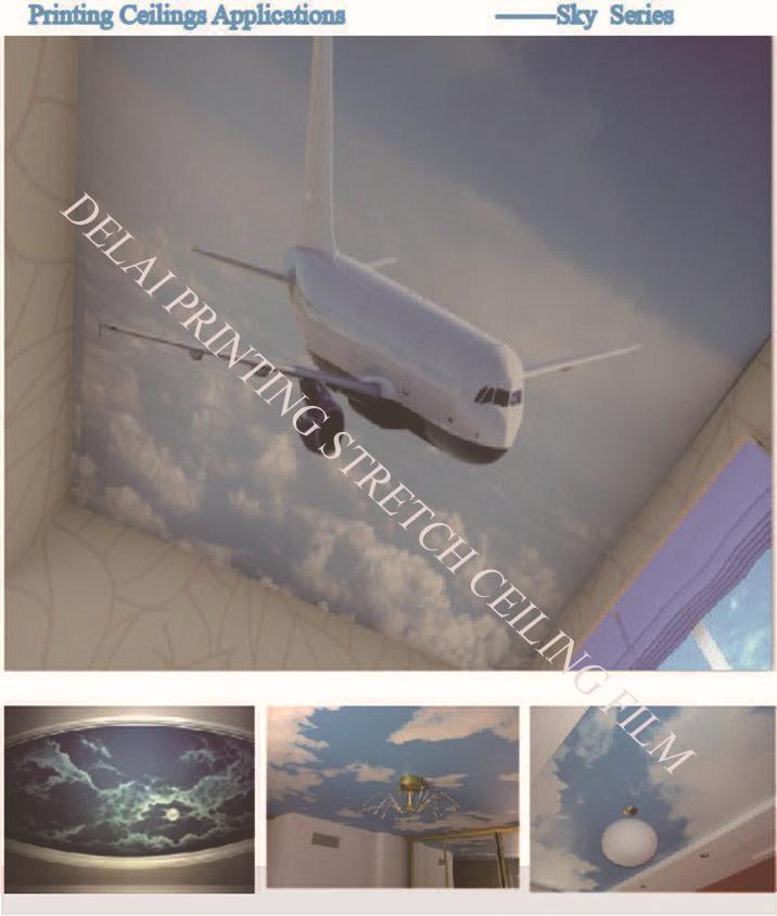 1.5/1.8/3.2 м ширина #4010 белый translucen натяжного потолка кино и пвх для натяжных потолков фильм малый заказ