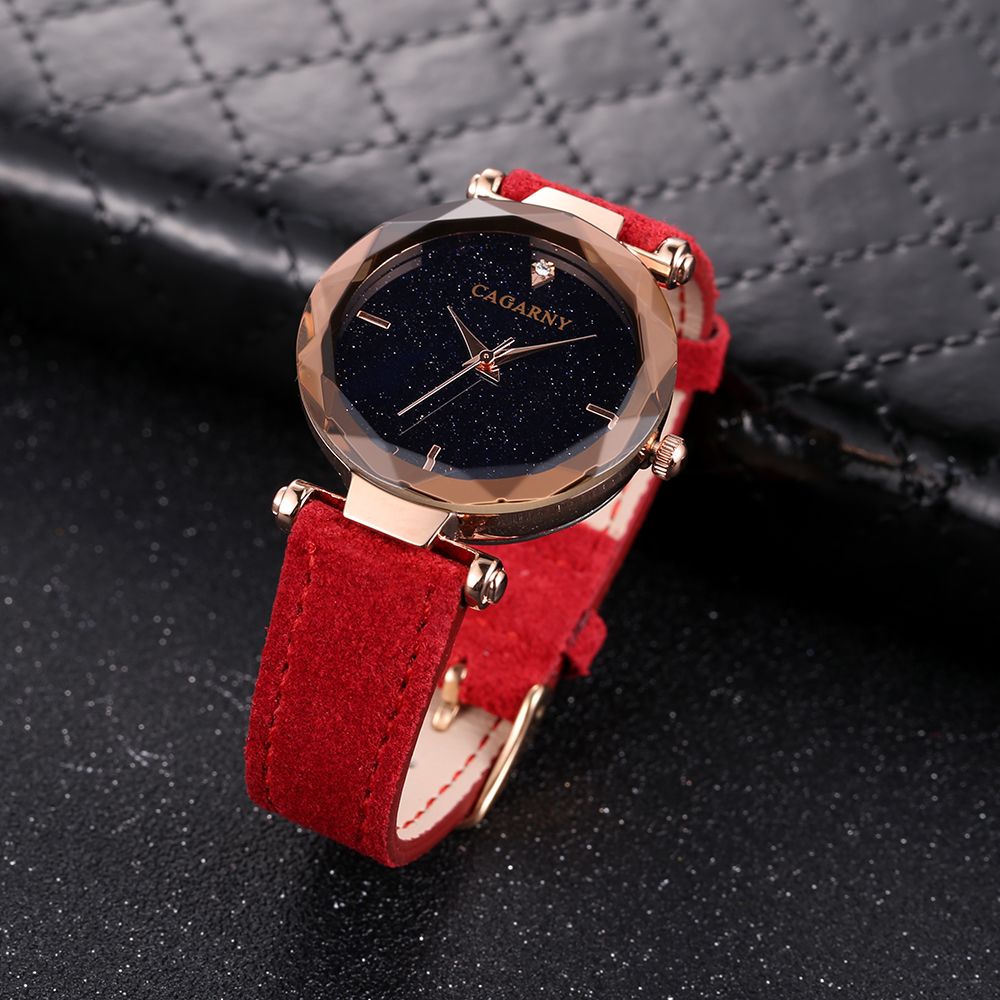 cagarny 2018 Leather Women Watches Ladies Luxury Brand Famous Wrist Watch Fashion Dress Female Clock Relogio Feminino Montre Femme drop shipping (7)