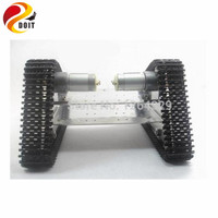 Tank Car Chassis Tracked Car For DIY Robot Electronic Toy Remote Control Smart Car Development Kit