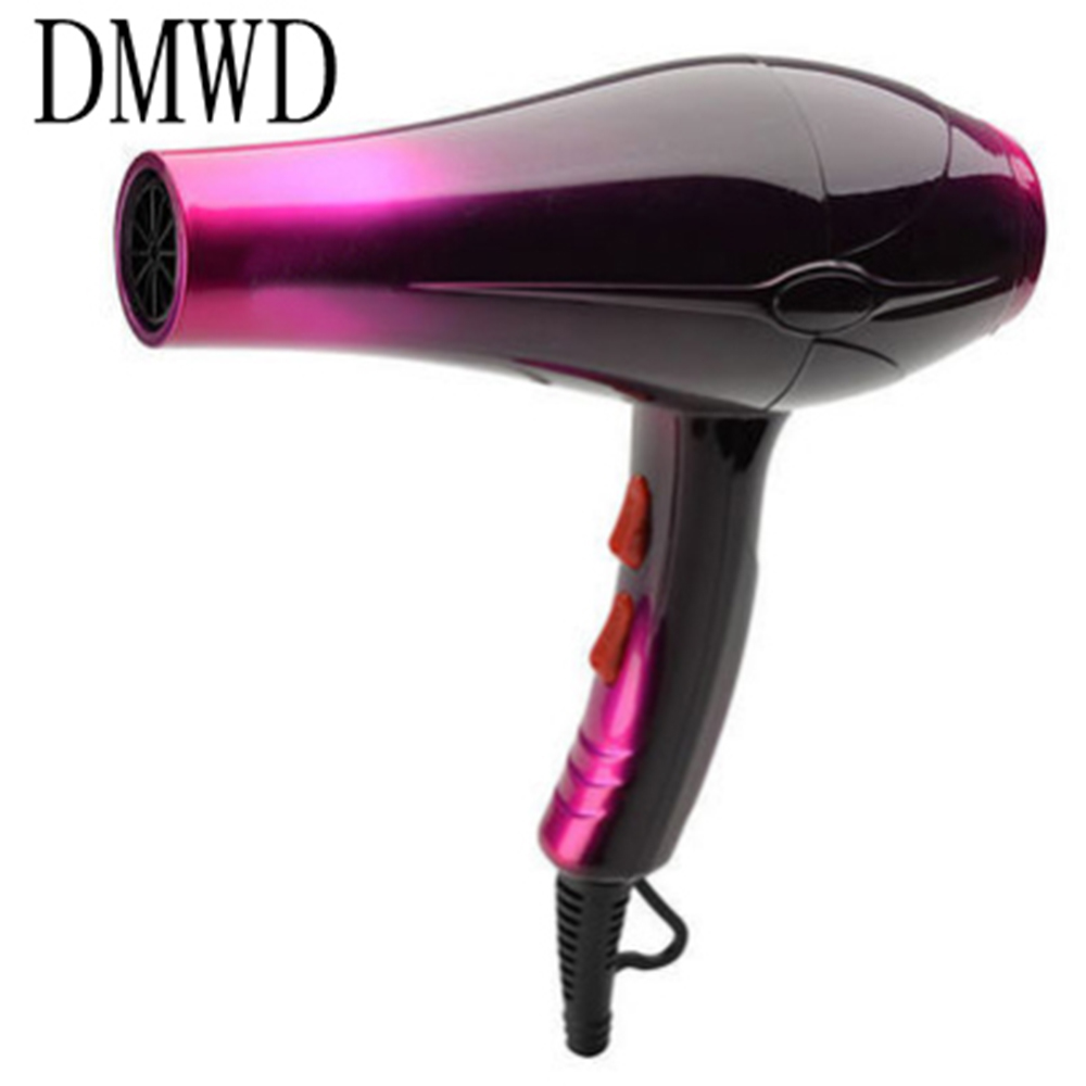 DMWD 2200W Hot and Cold Wind Hair Dryer Blow Dryer Styling Tools Not Hurt Hair For Salons And Household Professional giftforall hair dryer hairdryer hot and cold wind professional blow tools hair brush hair dryer housing styling tools hair drier