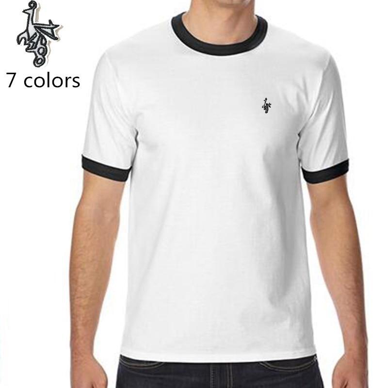 Digital Peacock Summer 100 cotton short sleeve Men t shirt cool funny Men T shirt Casual O Neck Hip hop t shirt in T Shirts from Men 39 s Clothing