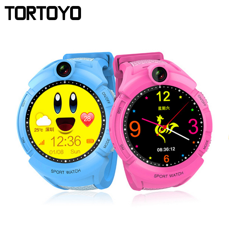 TORTOYO A17 Q360 Kid Positioning Watch LBS Positioning Smart Watch Phone Touch Screen Camera Flashlight SOS Anti-lost Reminder