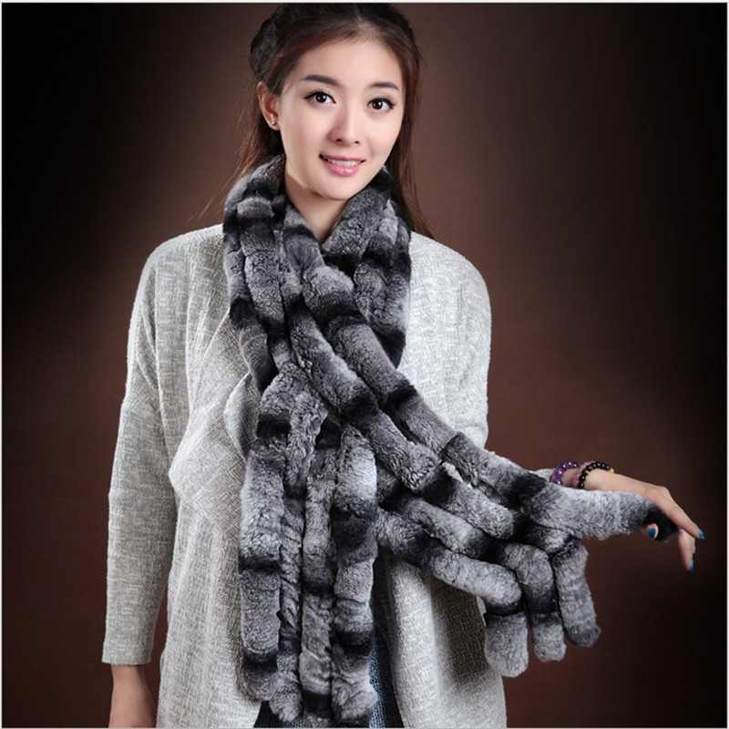 Hot Sale Fashion 2016 Scarf Real Rex Rabbit Fur Hat Scarf For Children Autumn and Winter Warm Thick Cap Collar Free Shopping fashion wool knit baby hat scarf set with fox fur balls autumn winter children hat scarf kids caps for girls boys warm hats set