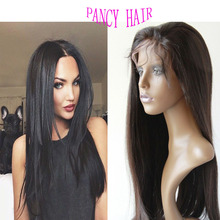 7A Wholesale Price Straight Glueless Full Lace Human Hair Wigs Brazilian Virgin Hair Lace Front Human Hair Wigs With Baby Hair