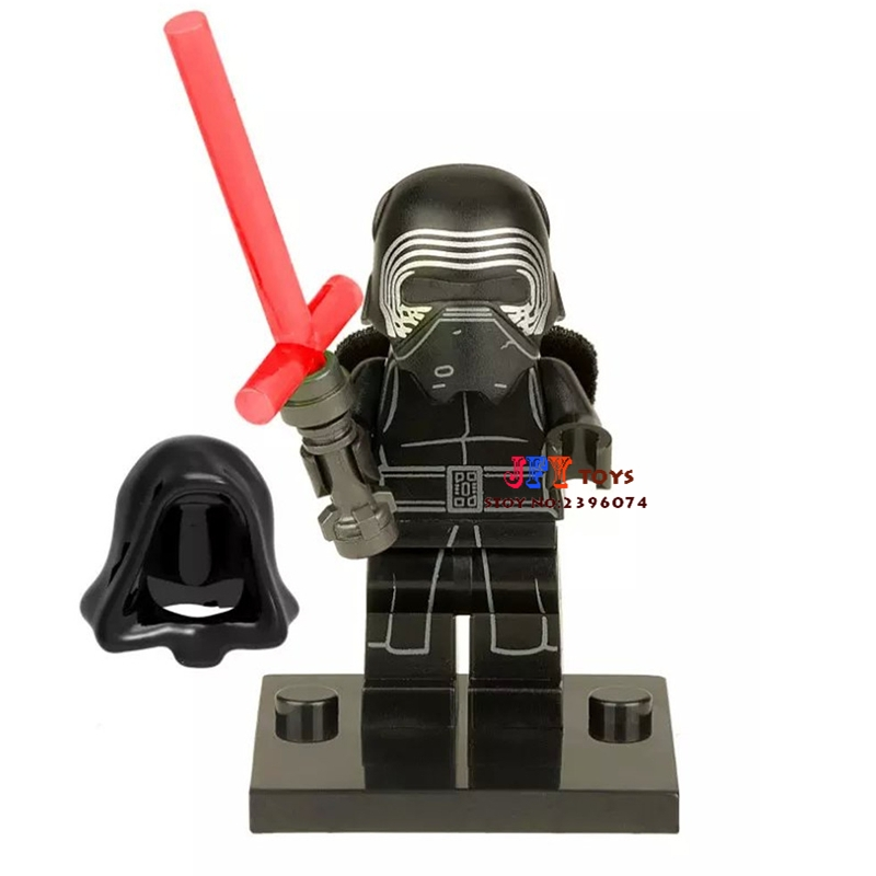 Single Sale star wars superhero Kylo Ren building blocks model bricks toys for children brinquedos menino loz super mario kids pencil case building blocks building bricks toys school utensil brinquedos juguetes menino jouet enfant