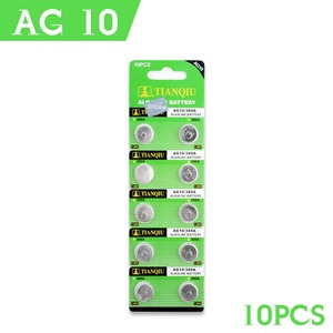 Image 5 - Дропшиппинг YCDC, 20 шт., батарейка AG10 LR1130 V10GA, Кнопочная монета для часов 189 389 390 LR54, лидер продаж + 50% скидка