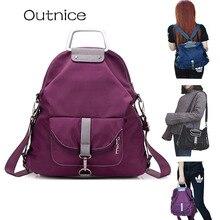 OUTNICE 2017 мода рюкзак Многофункциональные сумка женская ,рюкзак женский высокое качество мешок плеча оксфорд,школа Рюкзак
