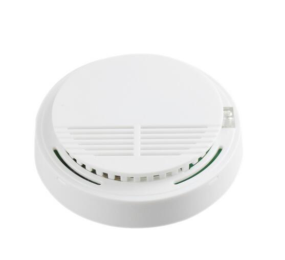 Yobang Security-Smoke Detector Fire Alarm Smoke Sensor For Home Security Safety Independent Photoelectric Fire Smoke Alarm