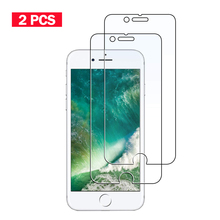 2PCS Tempered Glass Film for iPhone4 4s 5 5s SE Screen Protector for iphone 6 6s Plus Glass Film for iPhone7 8 plus for iPhone6 цены
