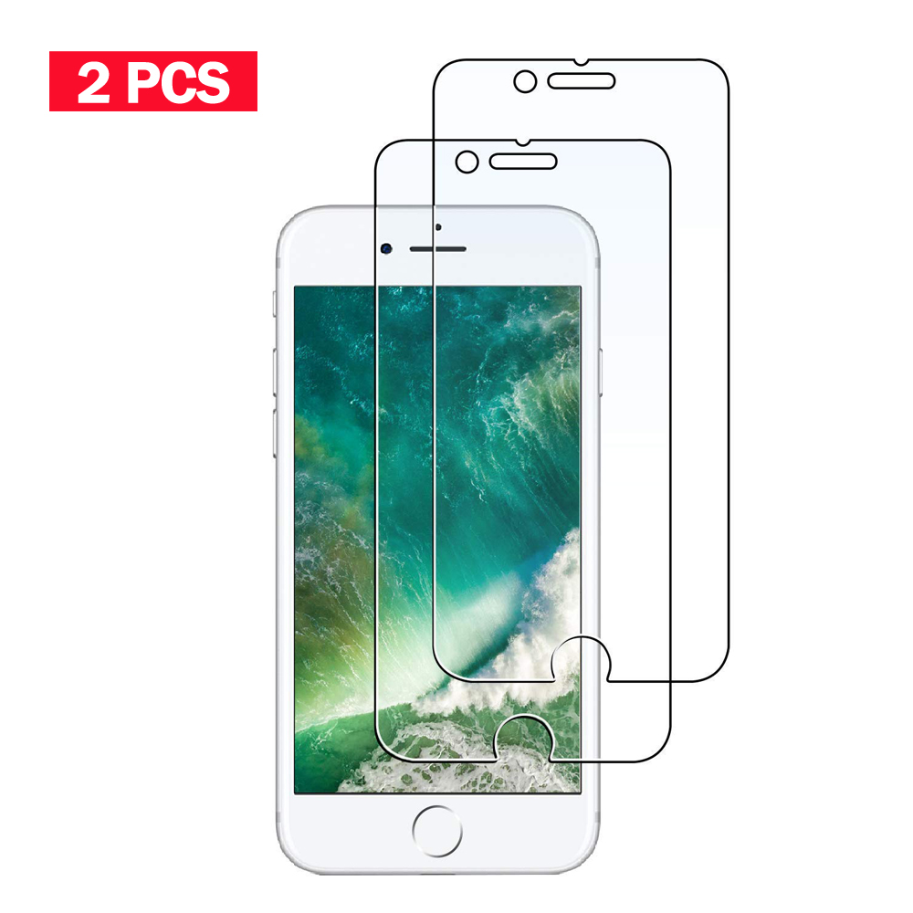 2PCS Tempered Glass <font><b>Film</b></font> for iPhone4 4s 5 5s SE Screen Protector for iphone 6 6s Plus Glass <font><b>Film</b></font> for iPhone7 8 plus for <font><b>iPhone6</b></font> image