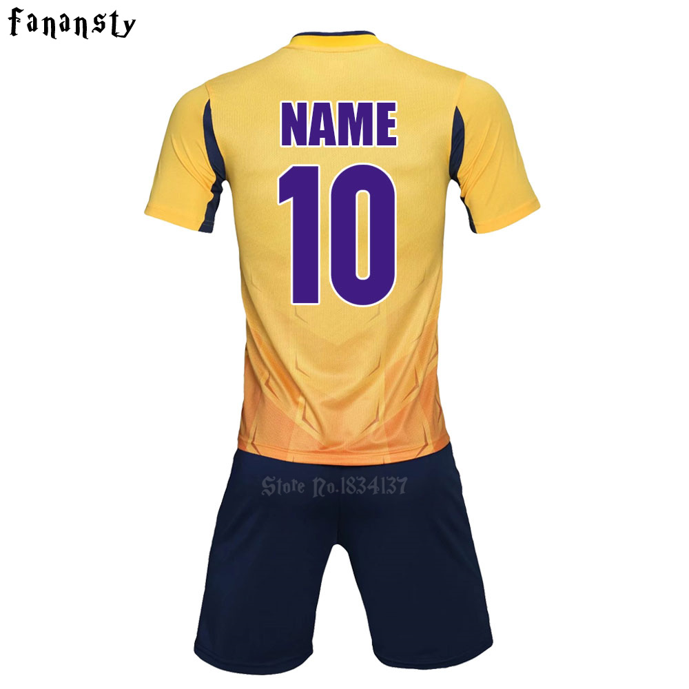 Adult Football Jerseys 2017 Men Soccer Jerseys Short Sleeve Football