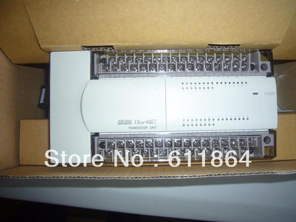 PLC Expansion module fx2n-48et warranty for 1 year