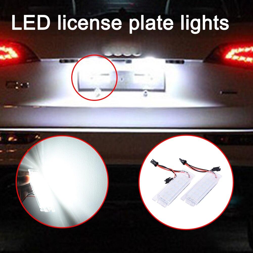 все цены на 2pcs 2.25W 12V Car Dedicated LED License Plate Lights for  Opel OPEL ZafiraB ASTRA CORSA  Insignia онлайн
