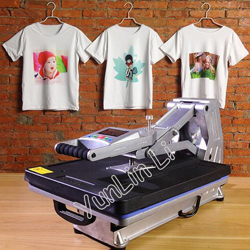 Free ship by DHL Advanced New Design Panel Heat Transfer Machine Sublimation Flatbed Heat Press Machine TShirt printing machine