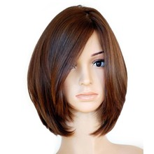 Straight Jewish European Human Hair Wigs 4×4 Silk Top Side Virgin Hair Kosher Wig Free Shipping 130% Lace Front Wig For Women