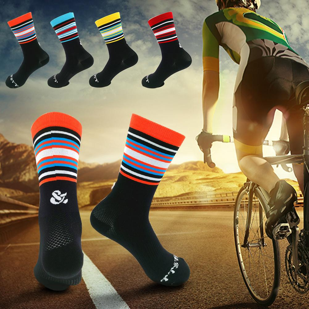 Unisex Riding Cycling Socks Breathable Bicycle Ankle Sports Racing Basketball
