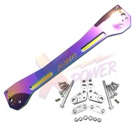 Xpower ASR REAR SUBFRAME BRACE FOR HONDA CIVIC 1996 1997 1998 1999 2000 EK EK9 NEO CHROME