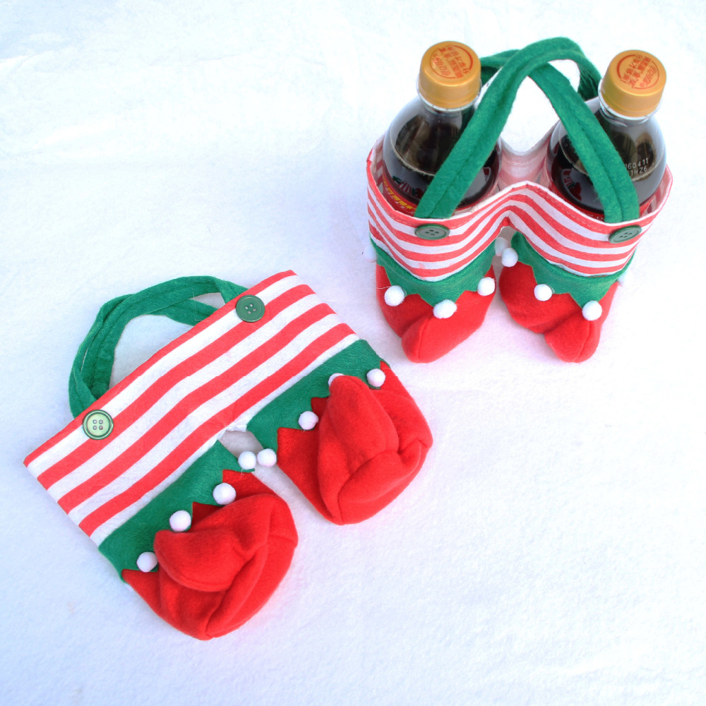Christmas Creative Home Table Dinner Party Decorations Wine