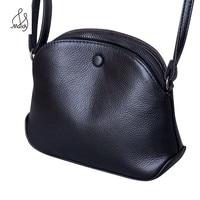 Fashion Lady Genuine Soft Cowhide Cow Leather Satchel Messenger Bags Handbag Women Crossbody Bag Designer Handbags Clutch Maidy