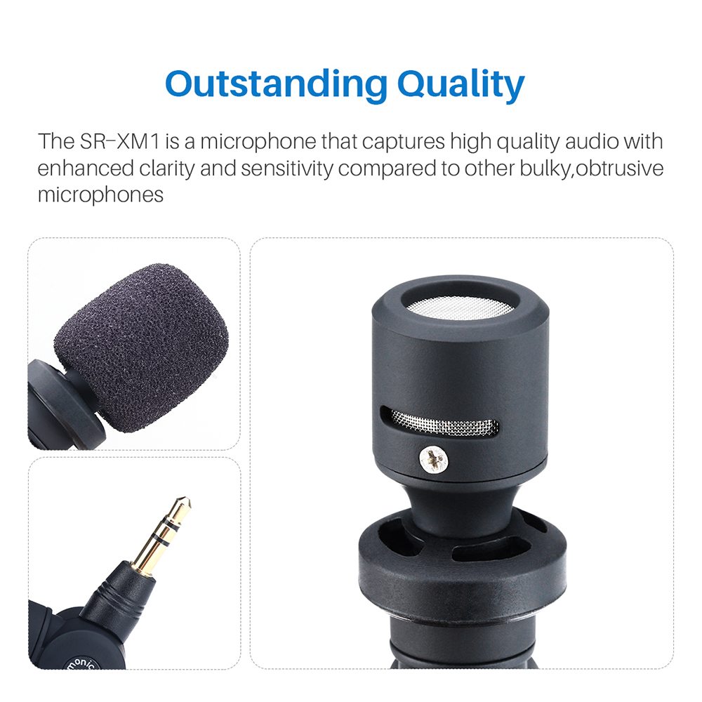 Image 5 - Saramonic 3.5mm TRS Mini Vlog Wireless Omnidirectional Microphone