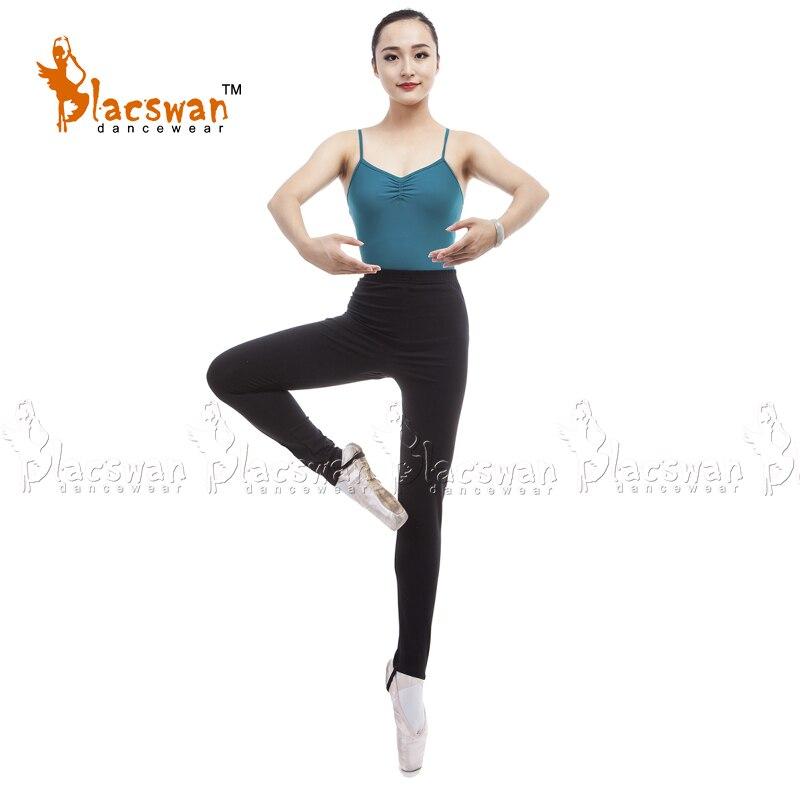 1e701cc4ba1c Cotton Lycra Elastic waist full length dance pants with loop Girls Stirrup Jazz  Pants Dance Leggings Spandex Dance Tights JP692-in Ballet from Novelty ...